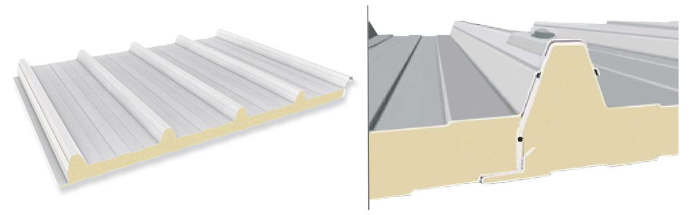 Dachpaneel 40/250, Details
