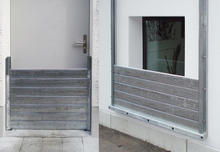 Fenster und Tür mit WP-Wasto