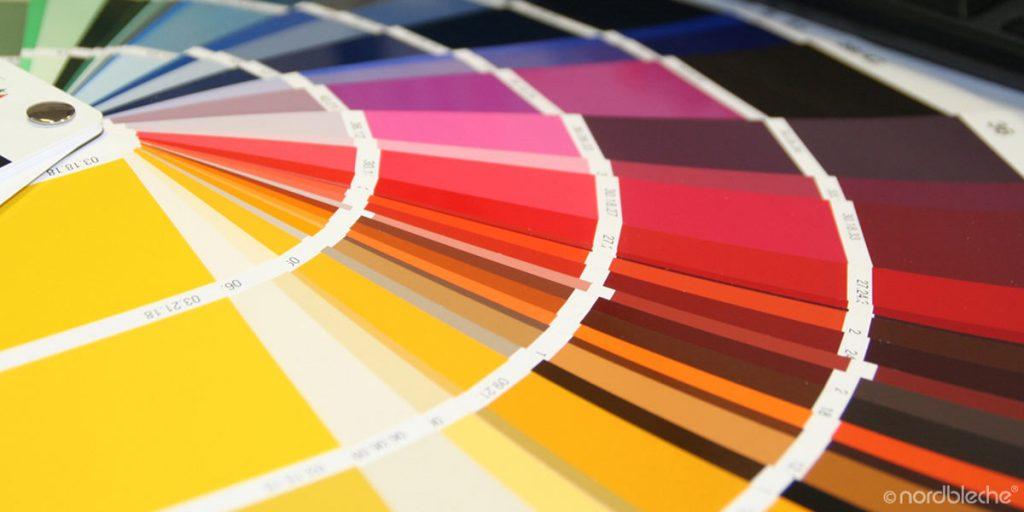 RAL Farben für verschiedene Profile