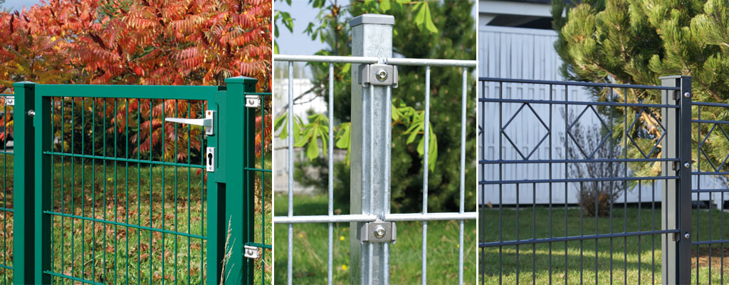 Stabmattenzaun, Pfosten, Tore Und Türen Direkt Vom Hersteller
