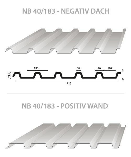 Profilblech NB 40/183 (40.183.5)