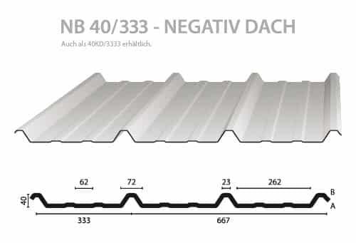 Trapezblech-Hochprofil-NB-40-333-Querschnitt-Nordbleche