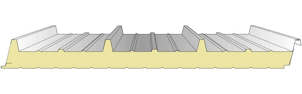 Iso-Dachpaneele-38-333-PU-Nordbleche