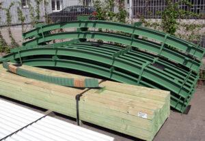Bogenbleche-Lagerung-Konstruktionsteile-Nordbleche