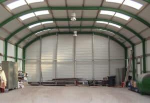 Runddachhalle-innen-Nordbleche