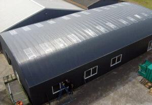Bogenbleche-Runddachhalle-Lichtplatten-Nordbleche