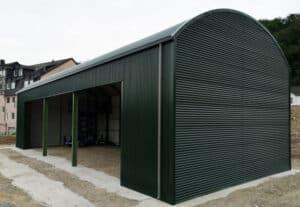 Bogenbleche-Runddachhalle-Garage-Nordbleche