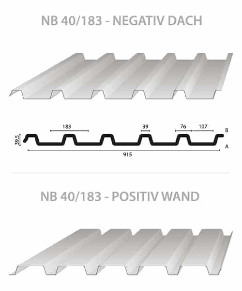 Trapezblech-Profilblech-NB-40-183-Nordbleche