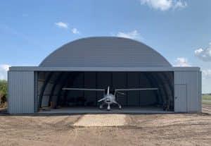 Unterstellplatz-für-Segelflugzeuge-Bogenhallen